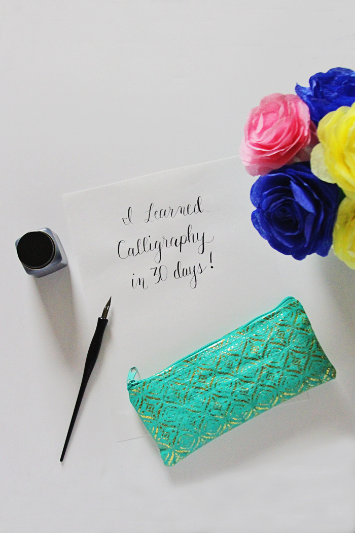 Brewed-Together-Calligraphy-in-30-days