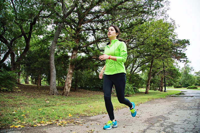 Running is great way to clear your head and work in some cardio.   Brewedtogether.com